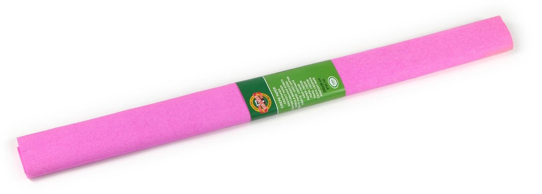 Krepový papír 50 x 200 cm, růžový, KOH-I-NOOR (992051)
