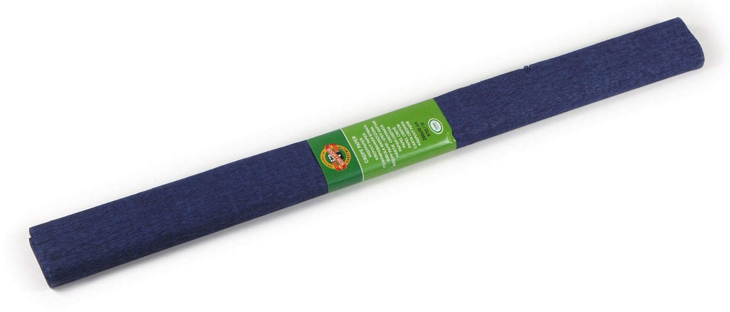 Krepový papír 50 x 200 cm, tmavě modrý,KOH-I-NOOR