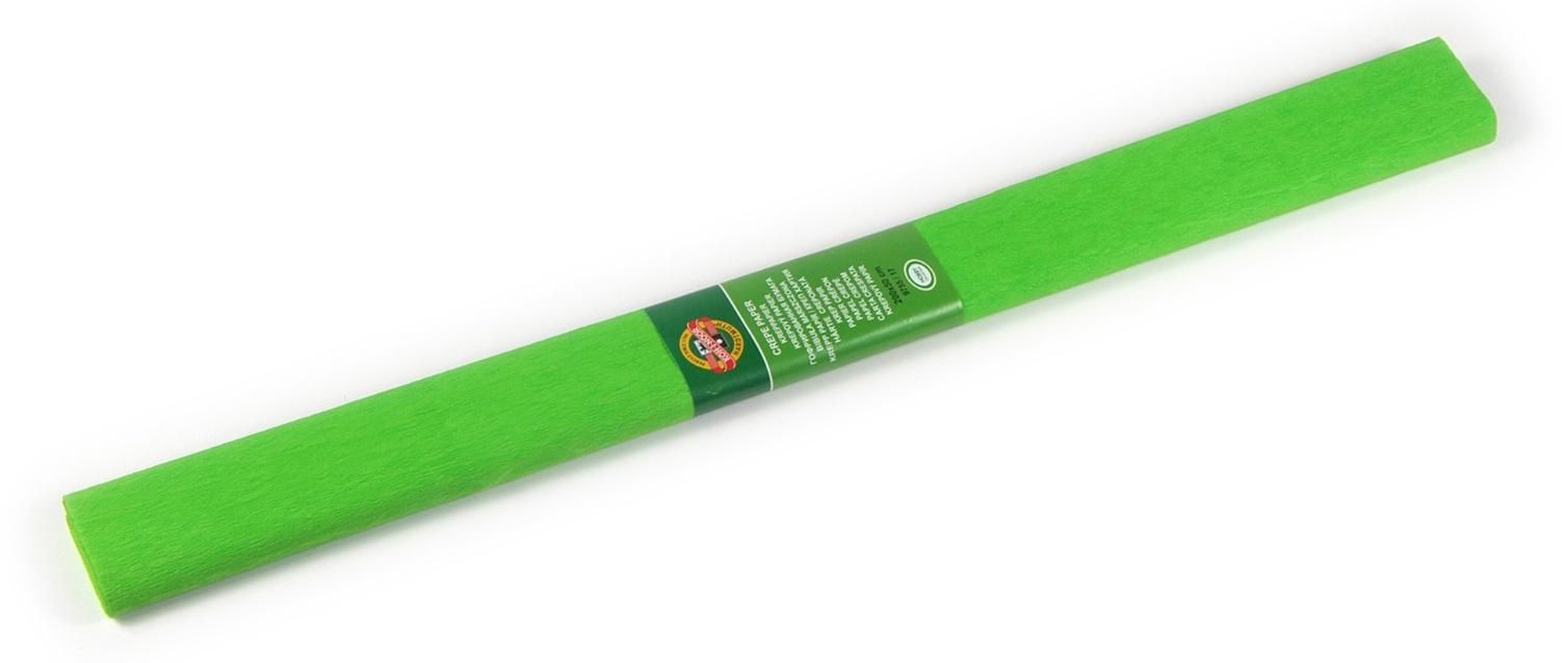 Krepový papír 50 x 200 cm, světle zelený,KOH-I-NOOR