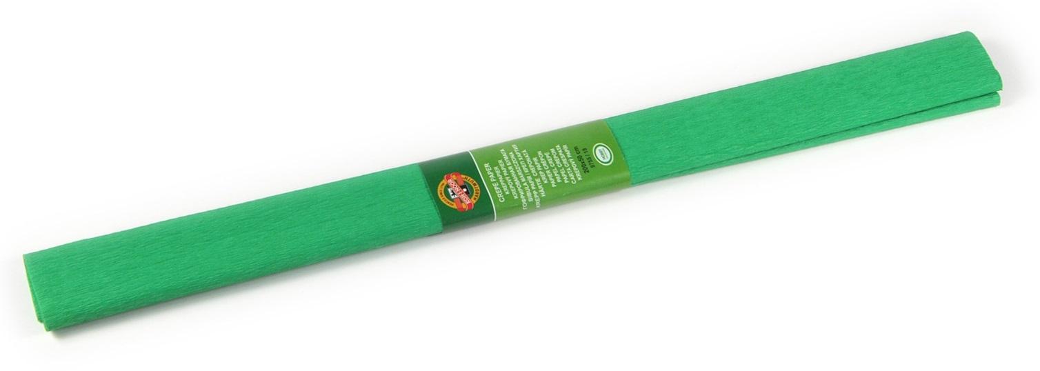 Krepový papír 50 x 200 cm, středně zelený,KOH-I-NOOR