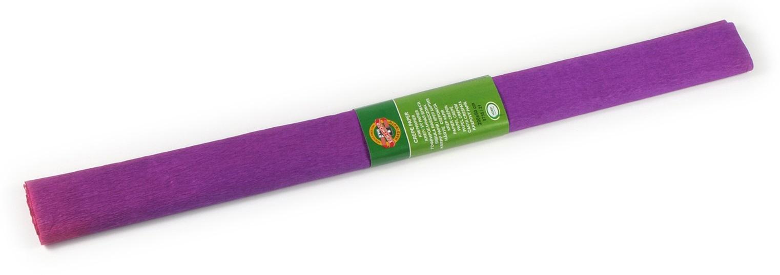 Krepový papír 50 x 200 cm, fialový, KOH-I-NOOR