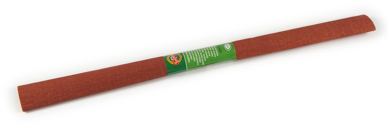 Krepový papír 50 x 200 cm, hnědý, KOH-I-NOOR