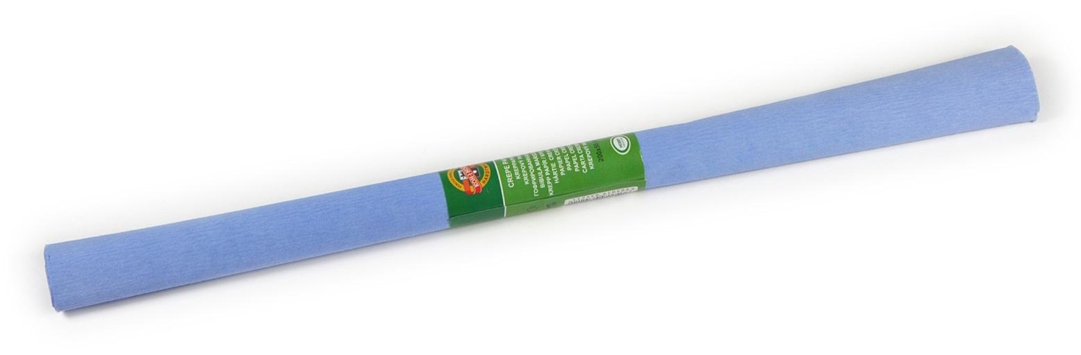 Krepový papír 50 x 200 cm, světle modrý, KOH-I-NOOR (992072)