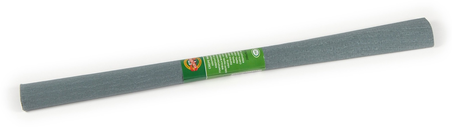 Krepový papír 50 x 200 cm, šedý, KOH-I-NOOR