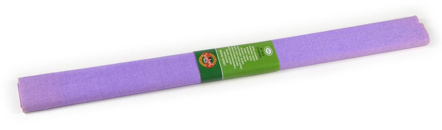 Krepový papír 50 x 200 cm, světle fialový, KOH-I-NOOR
