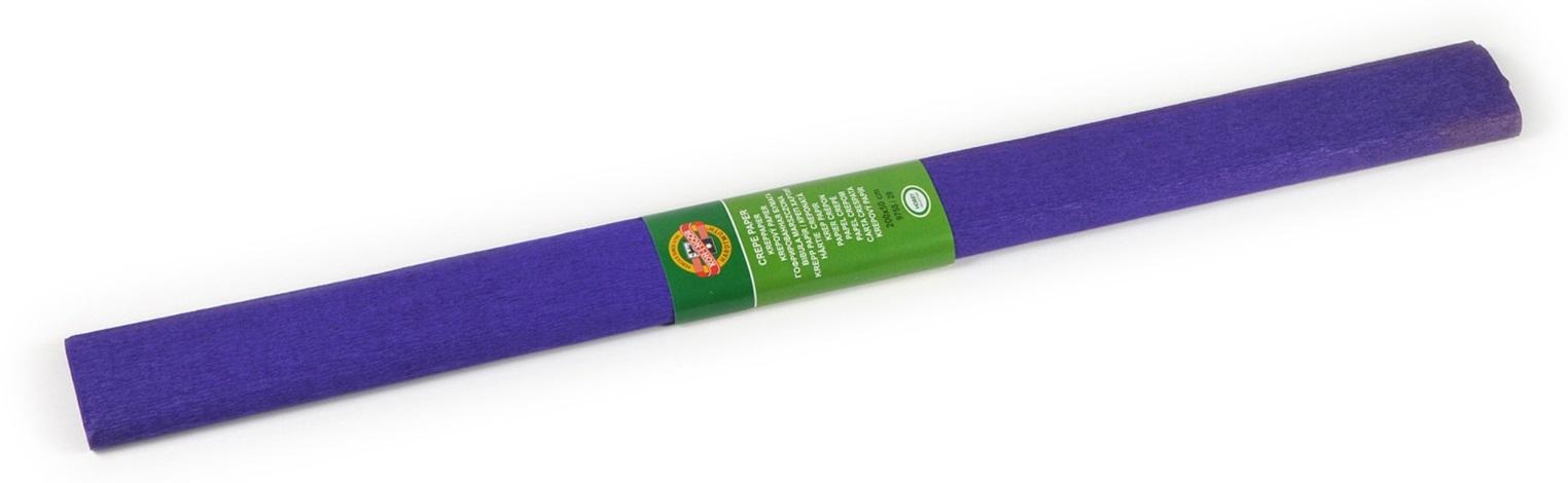 Krepový papír 50 x 200 cm, tmavě fialový, KOH-I-NOOR