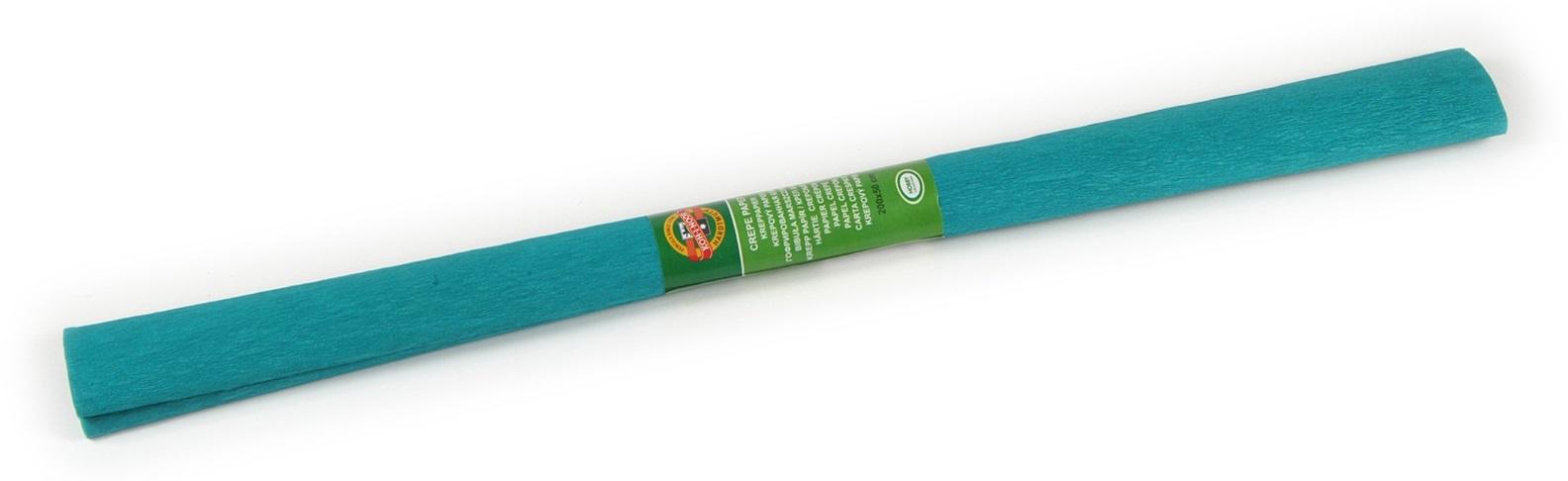Krepový papír 50 x 200 cm, zelenomodrý, KOH-I-NOOR