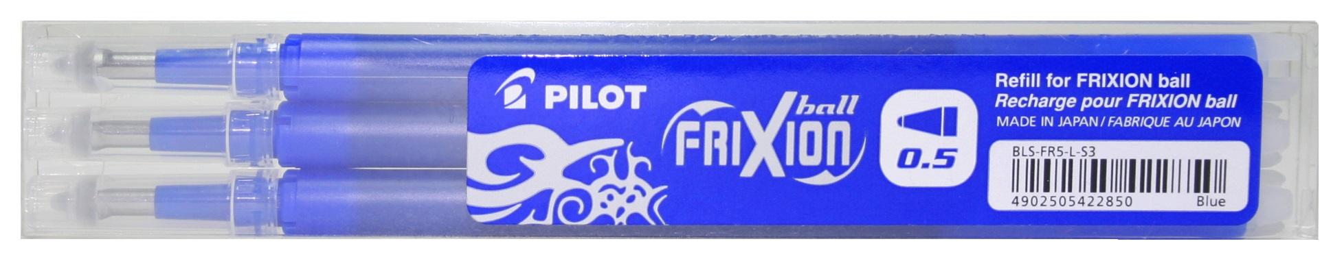 Náplň Frixion PILOT 0,5 mm, 3 ks - modrá 2065-003