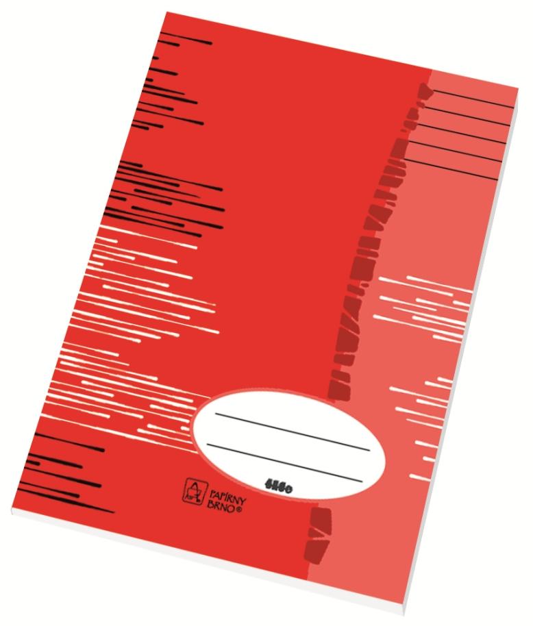 Školní sešit 464 - A4, linka 8 mm, 60 listů