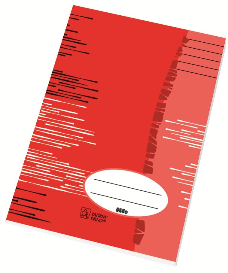 Školní sešit 524 - A5, linka 8 mm, 20 listů