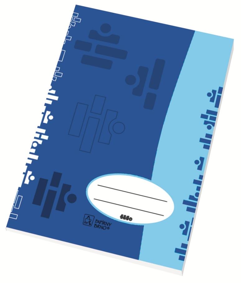 Školní sešit 540 - A5, čistý, 40 listů