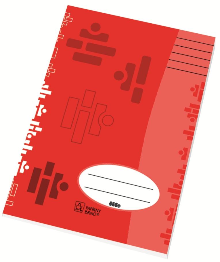 Školní sešit 544 - A5, linka 8 mm, 40 listů