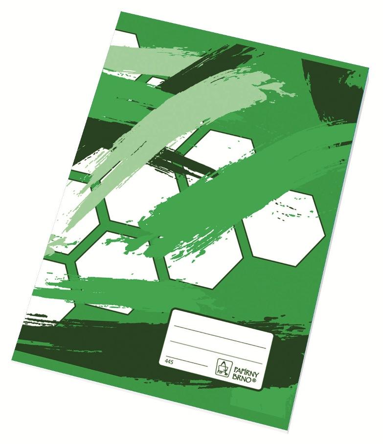 Školní sešit 445 - A4, čtvereček 5 mm, 40 listů