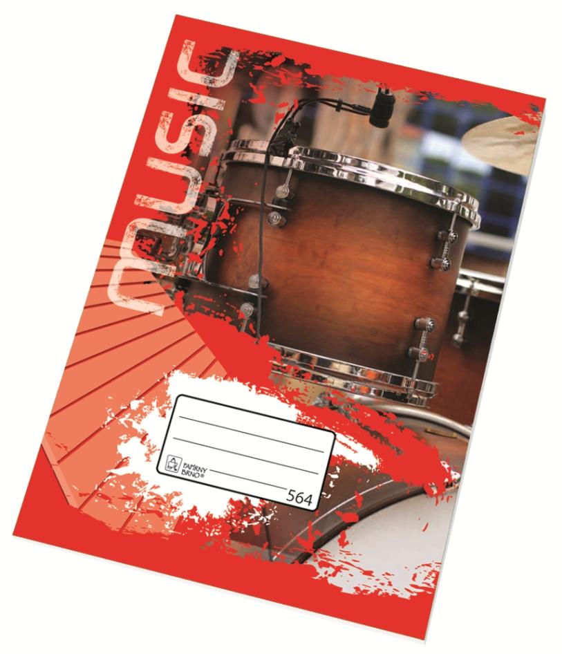 Školní sešit 564 - A5, linka 8 mm, 60 listů (994018)